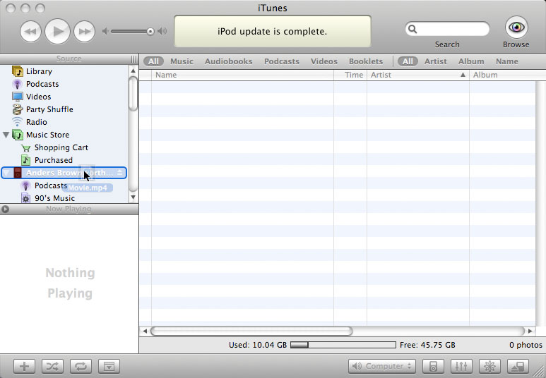 How to convert DVD movies for the iPod or iPhone in Mac OSX