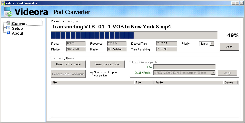 how to convert dvd movies for the ipod or iphone in windows