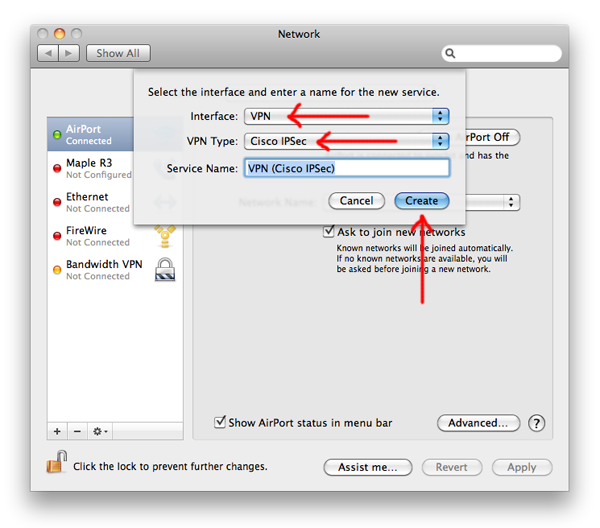 Native Cisco VPN on Mac OS X - With Group Password Decoder!